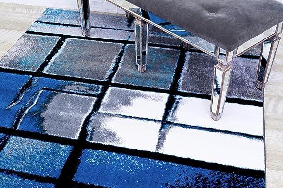 9031 Turquoise 5'2×7'2 Area Rug Carpet Large New