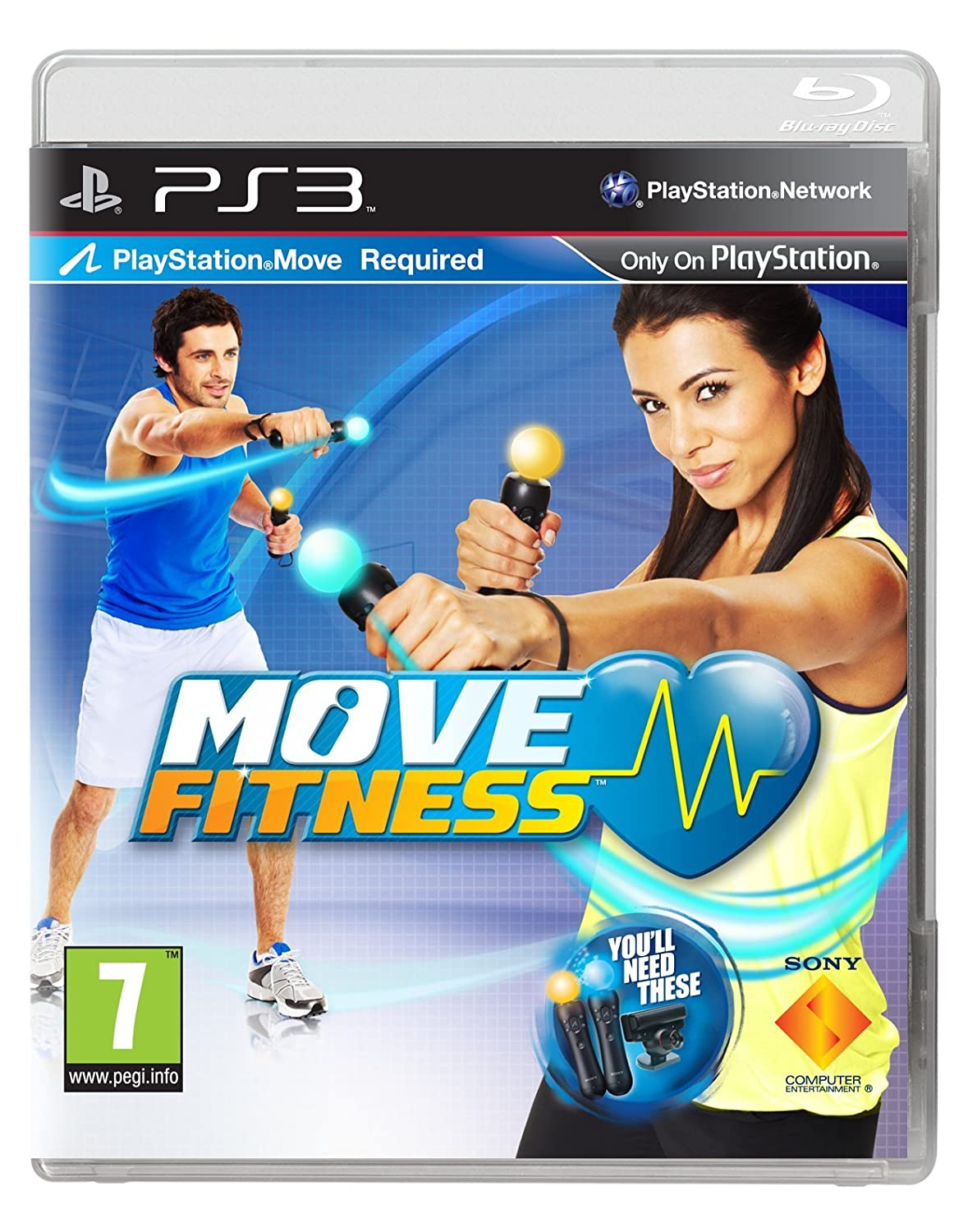 Sony Move Fitness (PS3) B005RKDLYA