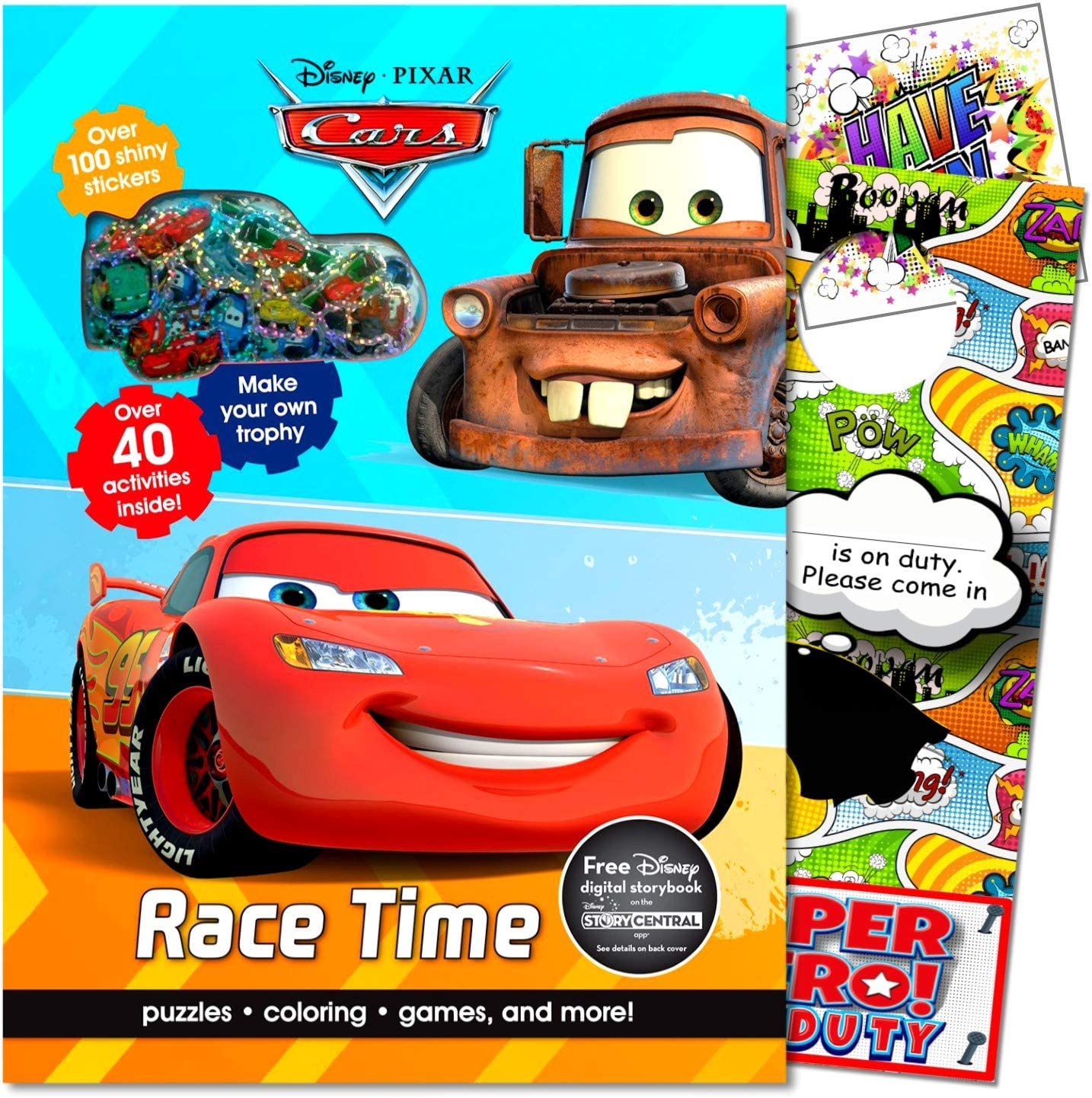 - Amazon.com: Disney Cars Coloring Book And Stickers Set Bundle