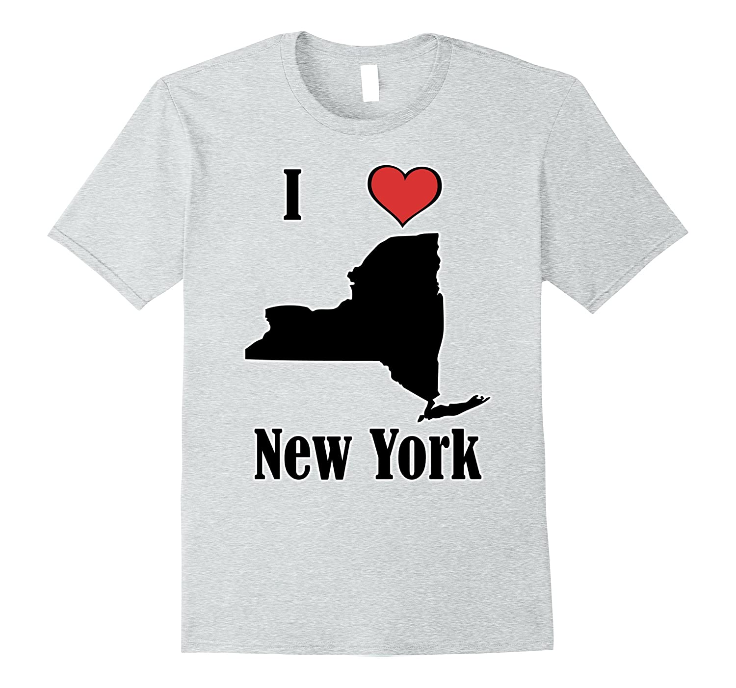 I love New York Souvenir T-shirt State of New York-PL