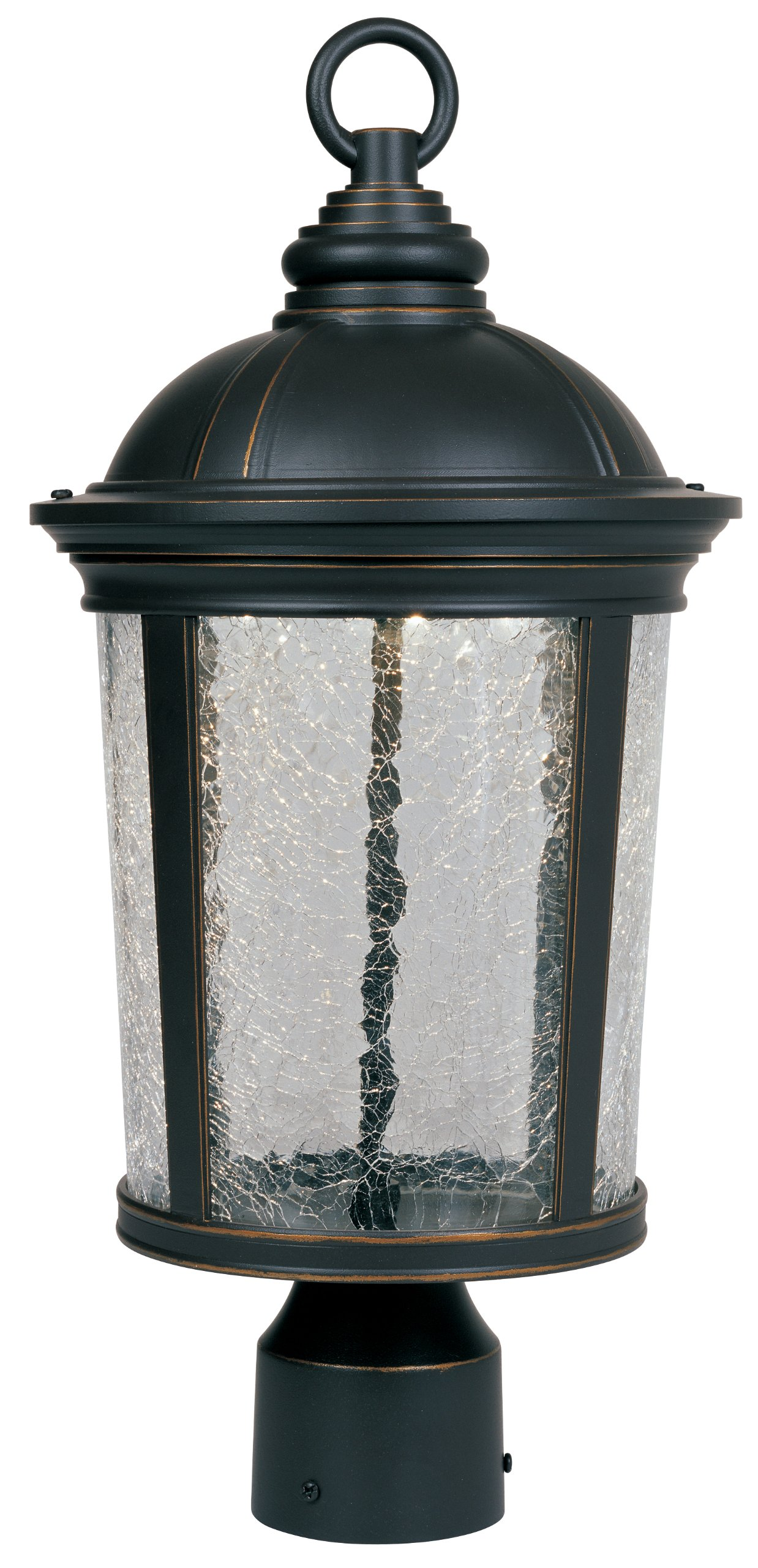 Designers Fountain LED21346-ABP Winston Post Lanterns, Aged Bronze Patina