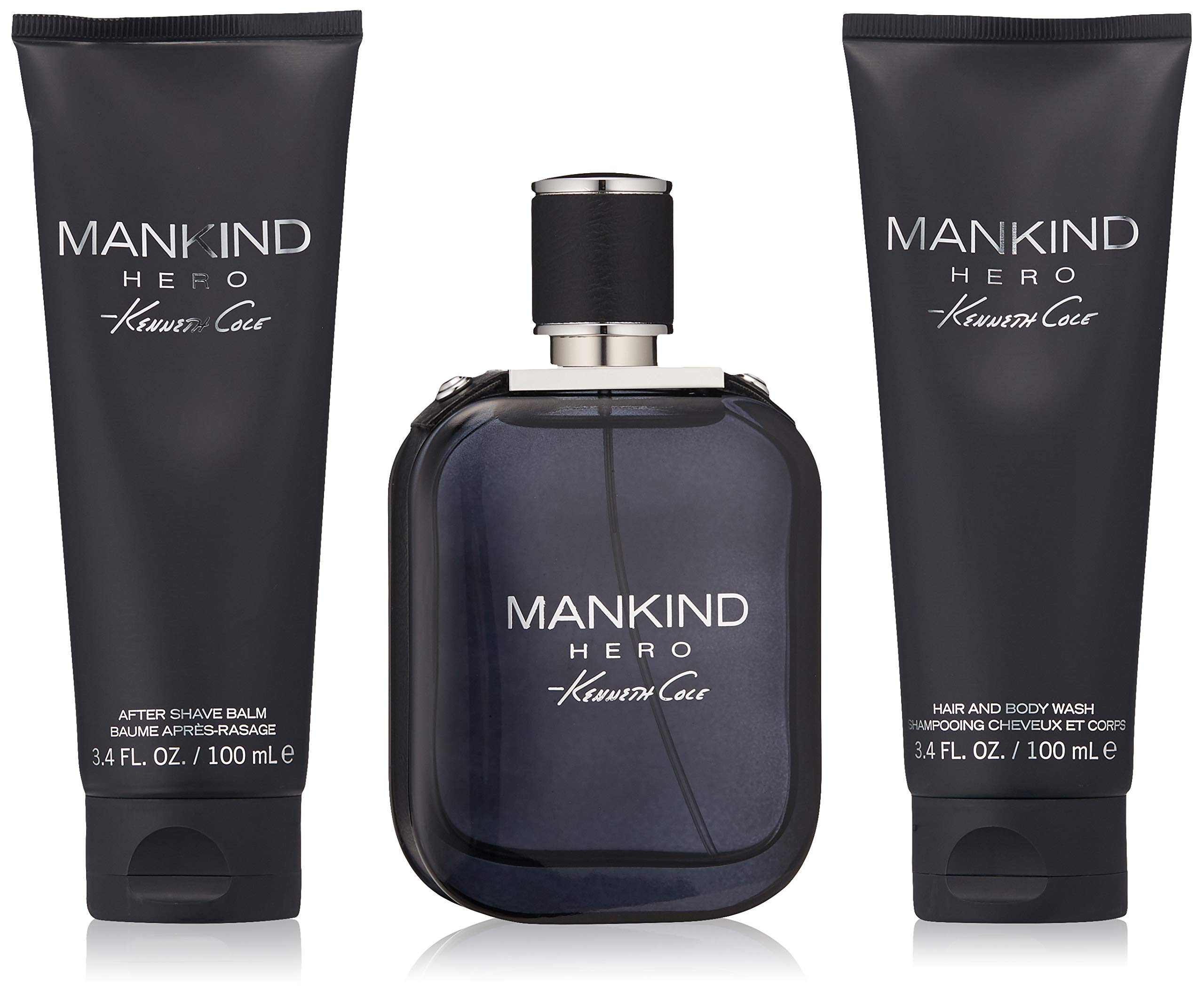 Kenneth Cole 3 Piece Mankind Hero Gift Set, 3.4 Oz. by Kenneth Cole