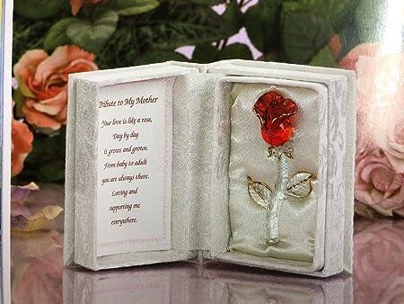 Homenaje a Mi Madre de Rosa Roja Caja Regalo para el día de ...