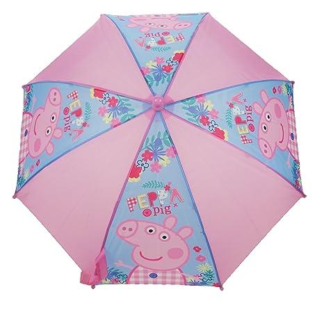 Peppa Pig Paragua clásico, rosa (Rosa) - PEPPA005115