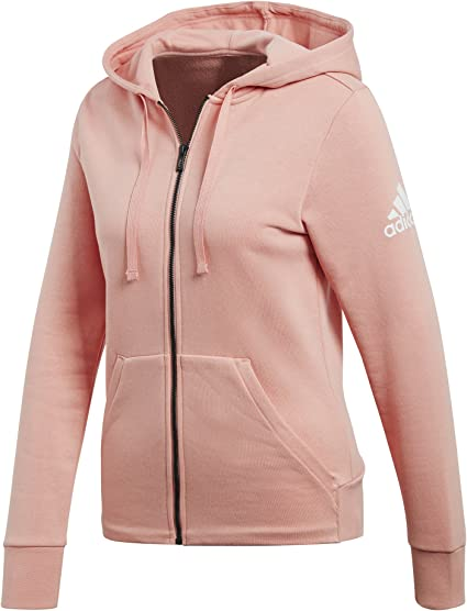 adidas Damen Hoody Essentials Solid Full Zip: