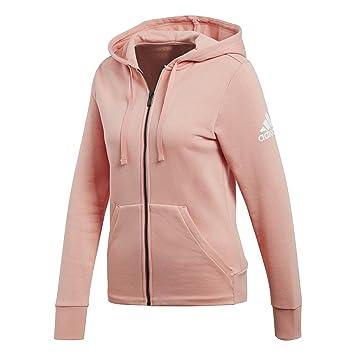 adidas Damen Essentials Solid Full-Zip Hoodie  Amazon.de  Sport ... 1e1c555144