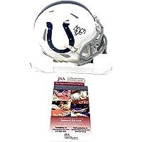 $59 » Darius Leonard Indianapolis Colts Signed Autograph Speed Mini Helmet JSA Witnessed…