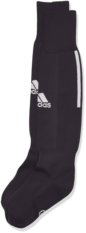 adidas Children's Santos 3Stripe Football Socks, Children's, Santos 3-Stripe Children' s black/white 27-30 Z56221
