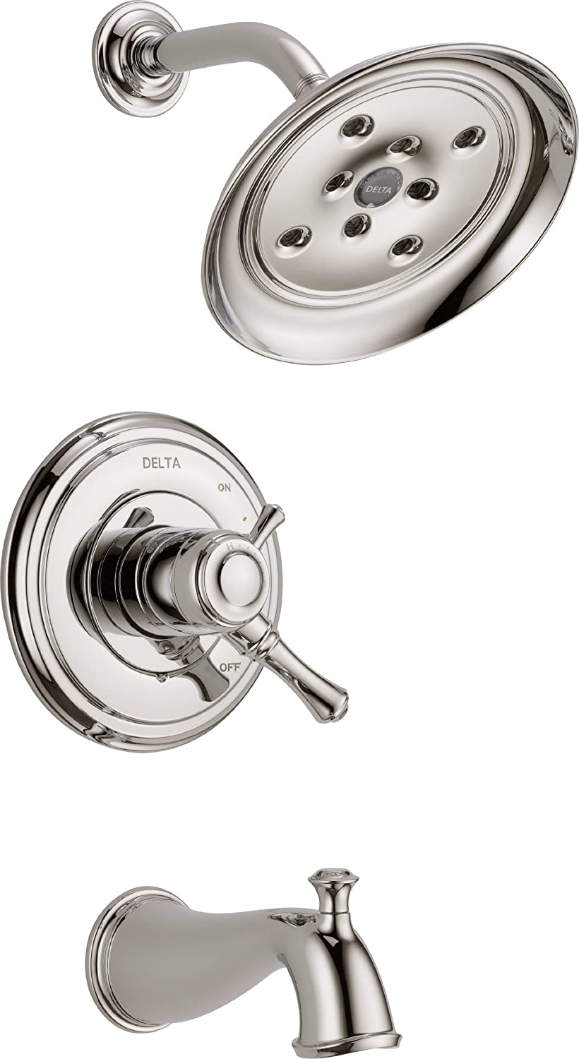 Delta Faucet T17497-RB Cassidy MultiChoice 17 Series Tub and Shower ...