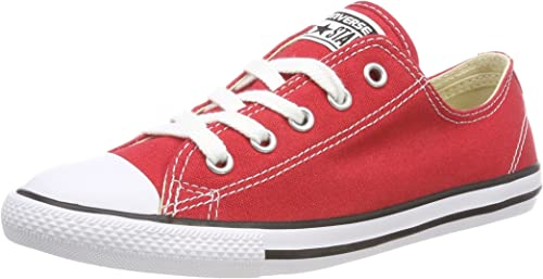Converse CT AS Dainty Ox, Baskets Slip-on Femme, Rouge ...