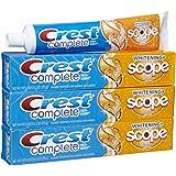 Crest Plus Scope Toothpaste, Citrus - 6.2 oz - 3 pk