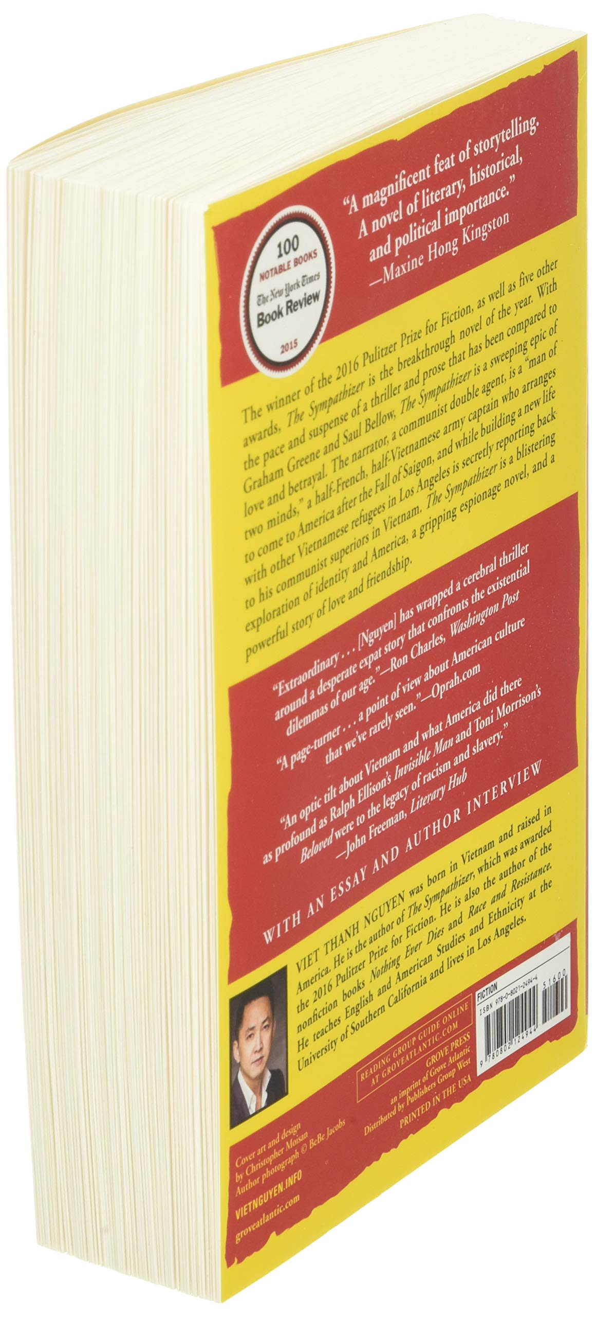 The Sympathizer: A Novel Pulitzer Prize for Fiction Grove ...