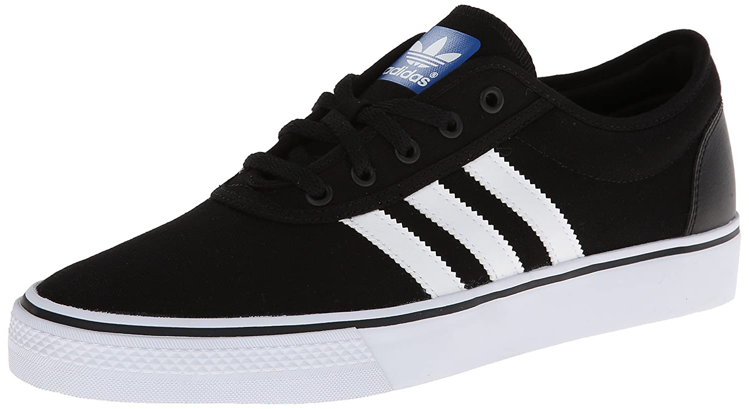 Adidas Men's Adi-Ease Lace up Sneaker B00HAJLW2E 9 D(M) US|Black/White/Black