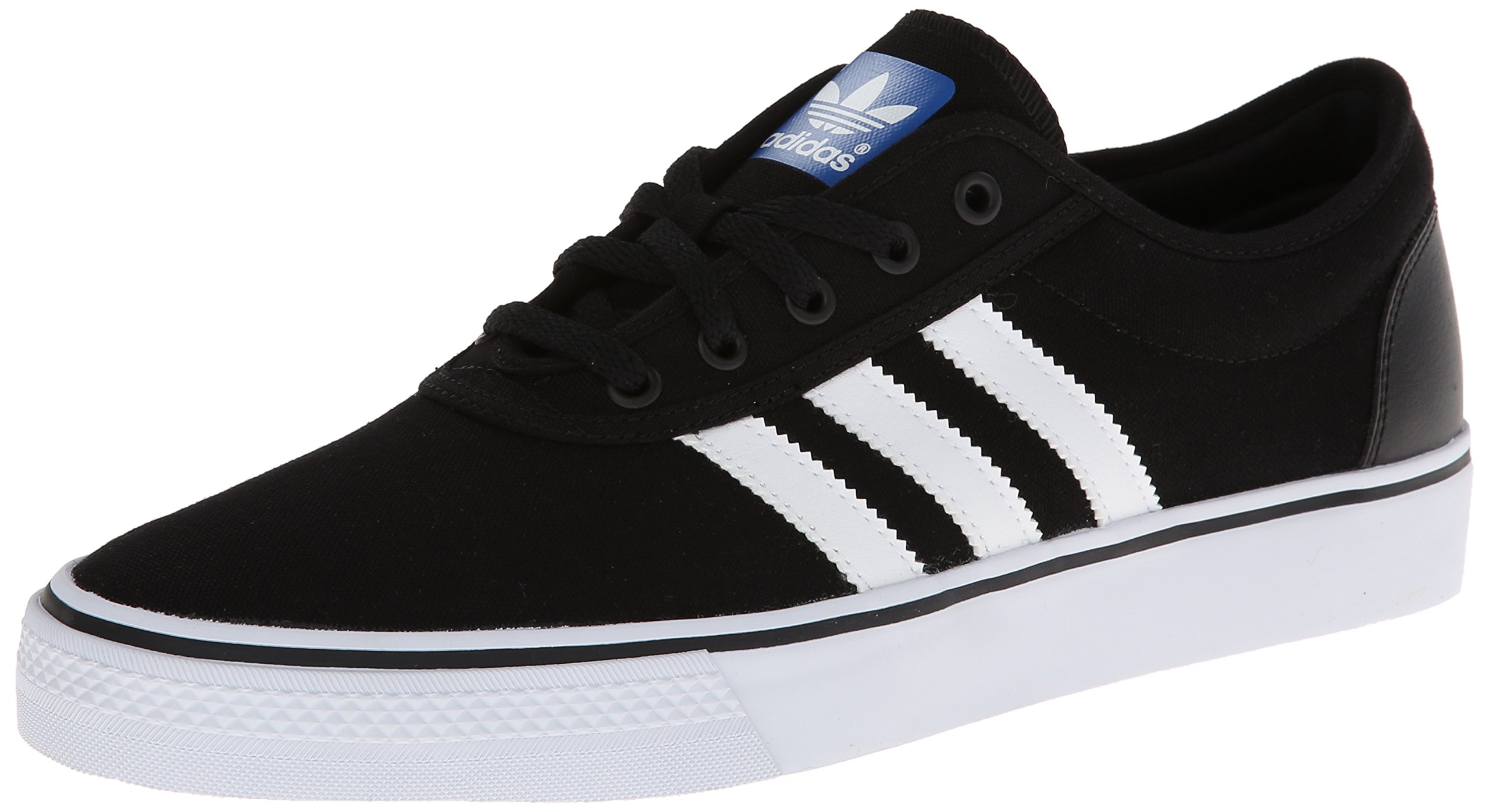 adidas Originals Men's Adi-Ease Skate Shoe,Black/White/Black,11 M US by adidas Originals