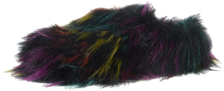 Steve Madden Donna  Fuzzy Slipper, Slipper, Slipper, Bright Multi, 5 M US 4ce460