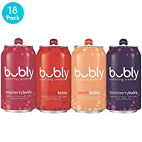 Bubly Sparkling Water, Berry Peachy Variety Pack 12 fl oz. Deals