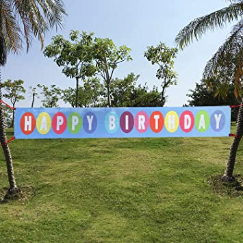 Feliz Cumpleaños Pancartas, Extra Large Happy Birthday ...