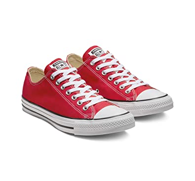 Star Chaussuresm9696Low Top Taylor RougeEur44Red Converse Chuck All pzqUVLMSG