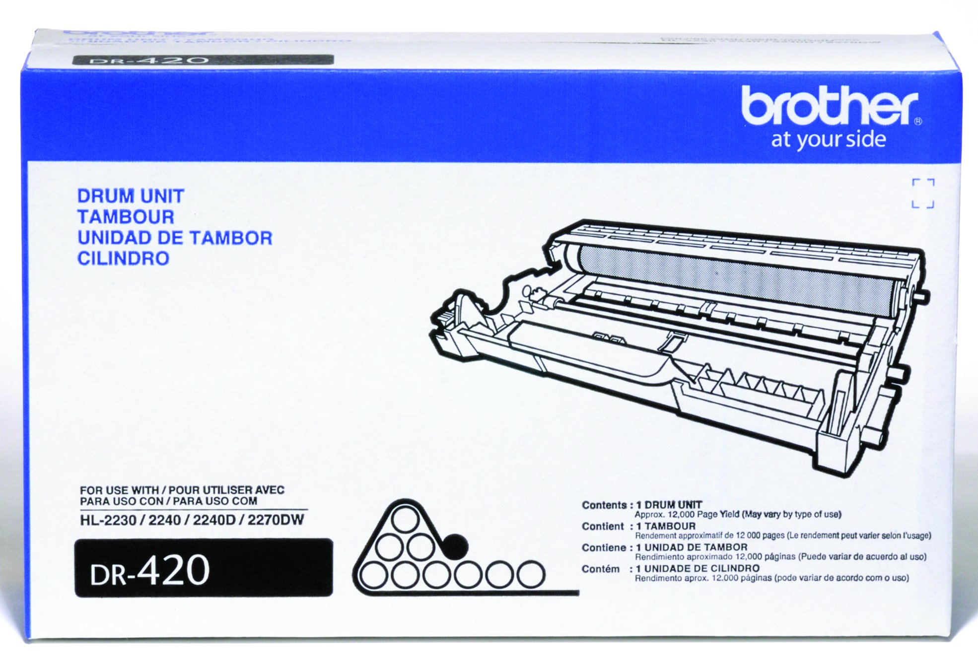 Brother DR420 Drum Unit - Retail Packaging by Brother