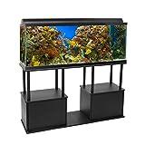 Aquatic Fundamentals Black Aquarium Stand with
