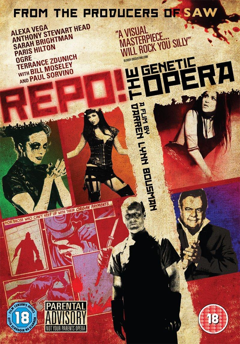 Darren Lynn Bousman - Repo! The Genetic Opera DVD: Amazon.co.uk ...