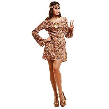 My Other Me Me-201989 Disfraz de hippie psicodélica para mujer ...