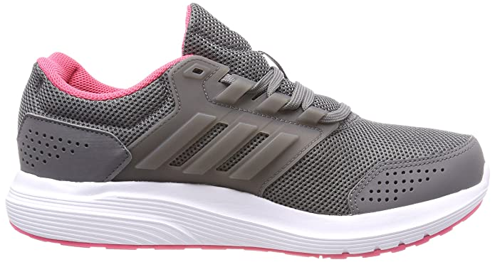 Amazon.com | adidas Womens Galaxy 4 Running Shoes, Grey Four/Real Pink, 4.5 UK 37 1/3 EU | Road Running