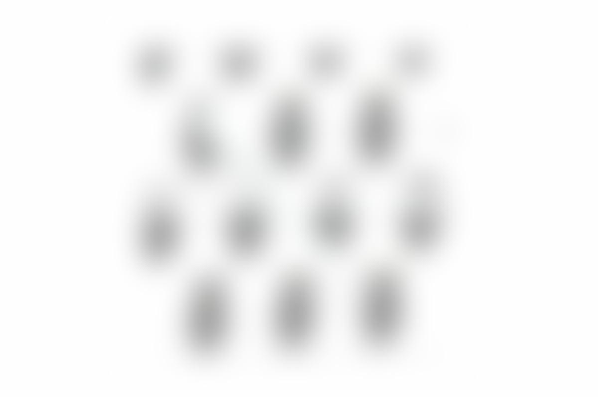 Leporello Fotoalbum mit Stoff 17x17 wei/ße Seiten B/ären