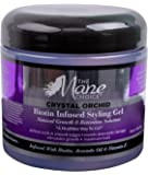 THE MANE CHOICE Crystal Orchid Biotin Infused Styling Gel, Natural Growth and Retention Solution - A Healthier Way To Gel (16 Ounces / 470 Milliliters)