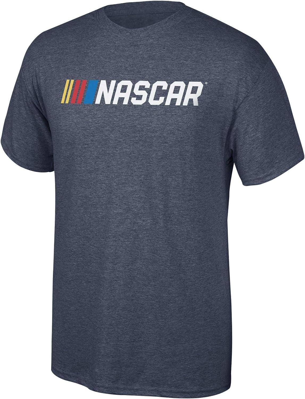 NASCAR Branded Merchandise Core Script Fan Favorite Dark Heather Shirt