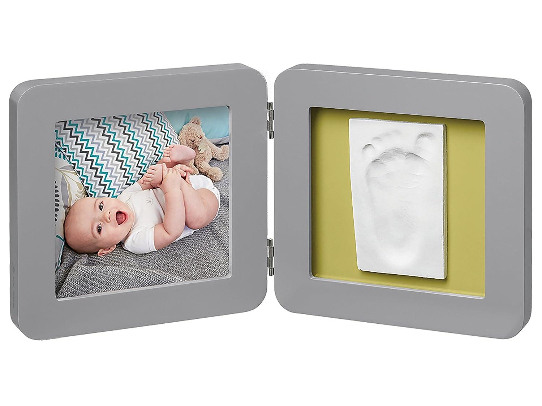 Cadre impression bébé, cadre photo 2er pour photo, main et empreinte, rond, édition cuivre rond cuivre, blanc BABY ART Dorel Germany GmbH (VSS) 3601092500