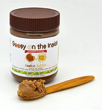 Image Unavailable. Image not available for. Color: Gooey on the Inside Dulce de Leche Cookie Butter