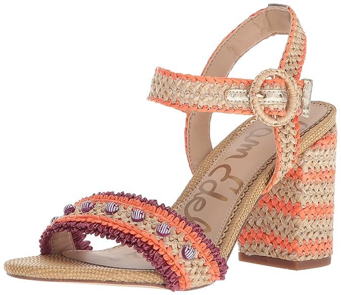 fbb81a1e0 Amazon.com  Sam Edelman Women s Olisa Heeled Sandal  Shoes