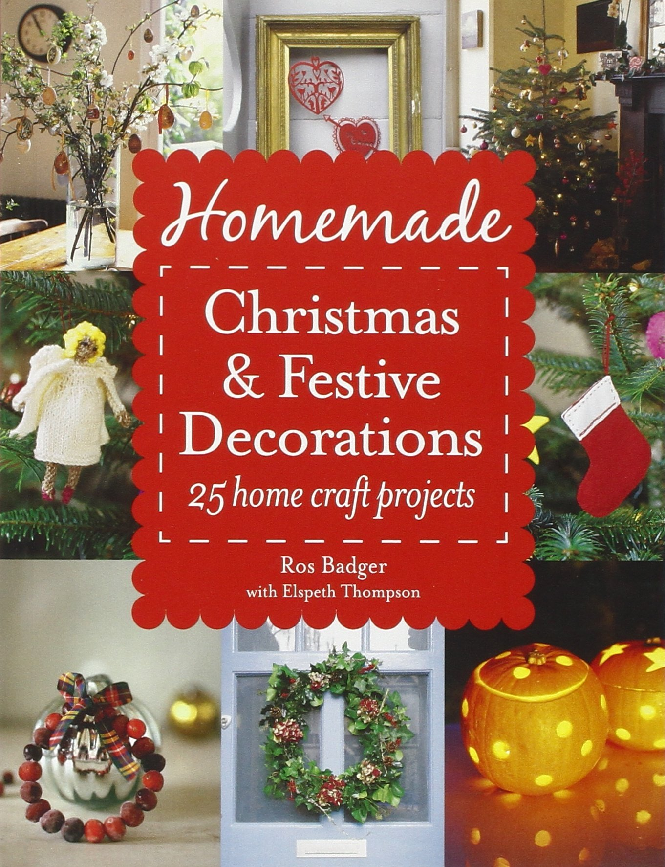 Download homemade christmas and festive decorations 25 for Badger christmas decoration
