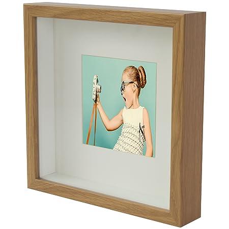 BD ART Box 3D Square Photo Frame 23 x 23 x 4.7 cm mount 13 x 13 cm ...