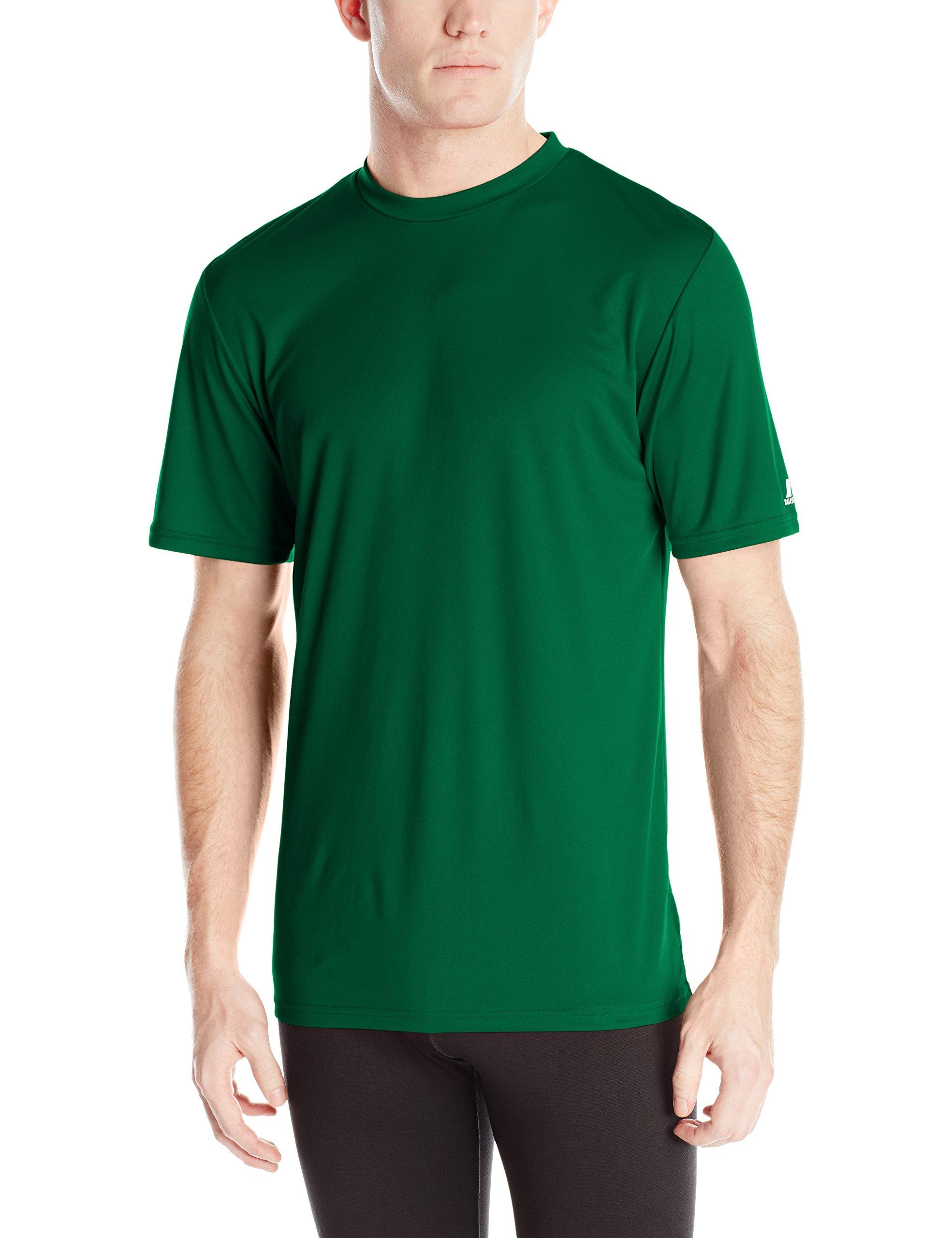 Russell Athletic Men's Performance T-Shirt, Dark Green, Medium
