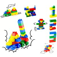 SARTHAM Building and Construction Blocks Toy for Kids, Age 3 to 8, Multi Color