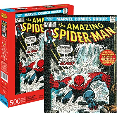Marvel Spider-Man Cover 500 pc Puzzle: Toys & Games