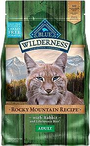 Blue Buffalo Wilderness Rocky Mountain Recipe High Protein Grain Free