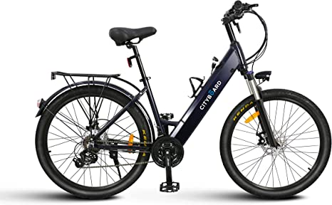 Bicicleta Eléctrica adulto paseo trekking Aluminio Cityboard 26 ...