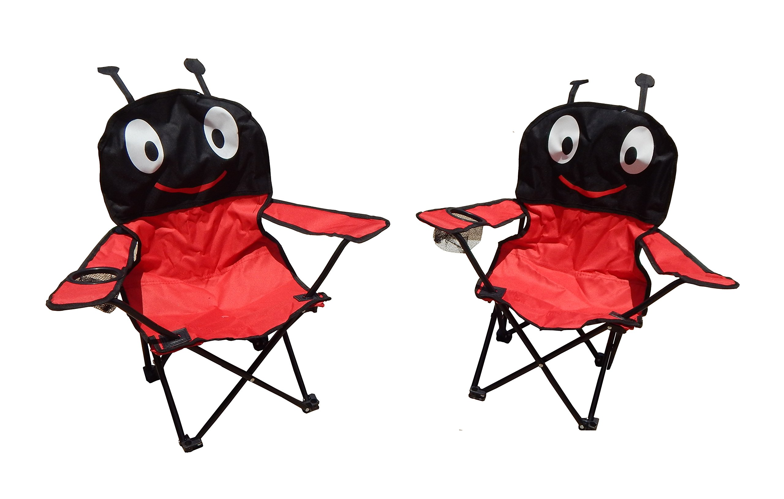 Folding Kids Camping Chairs in Animal Designs by J&Y Home & Garden (Set of 2) by MAOS (Image #1)