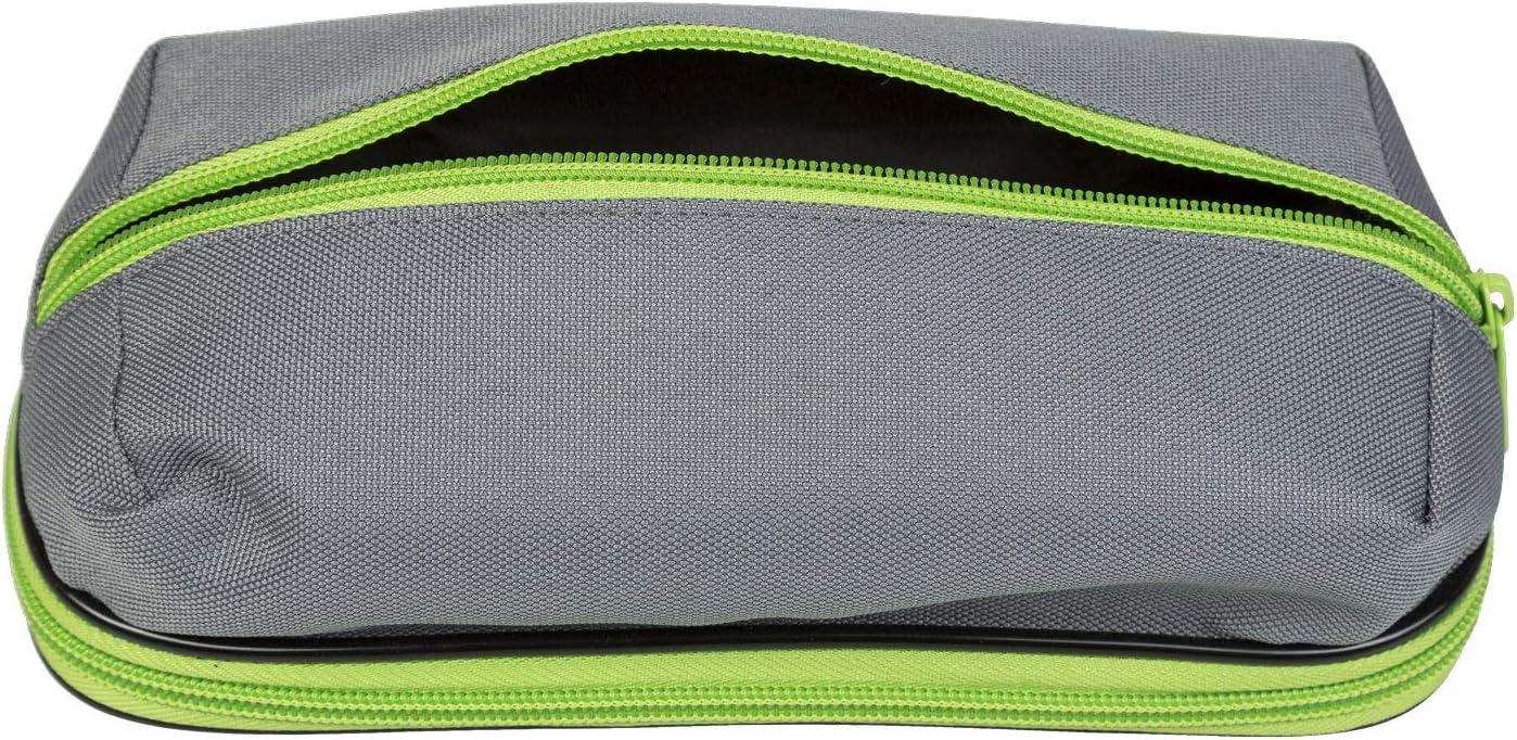 Idena 20041 Estuche Duo Aprox 22 x 10 x 10,5 cm Verde Multicolor