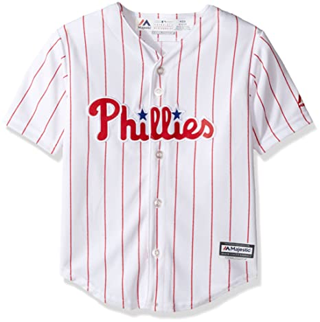 Amazon.com   Philadelphia Phillies Cool Base Toddler Home Jersey ... 672e0c8e314