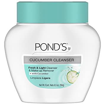 Ponds Deep Cleanser and Make-Up Remover Cucumber 6.50 oz (Pack of 4) Biore Warming Anti-Blackhead Cleanser 4.50 oz (Pack of 4)