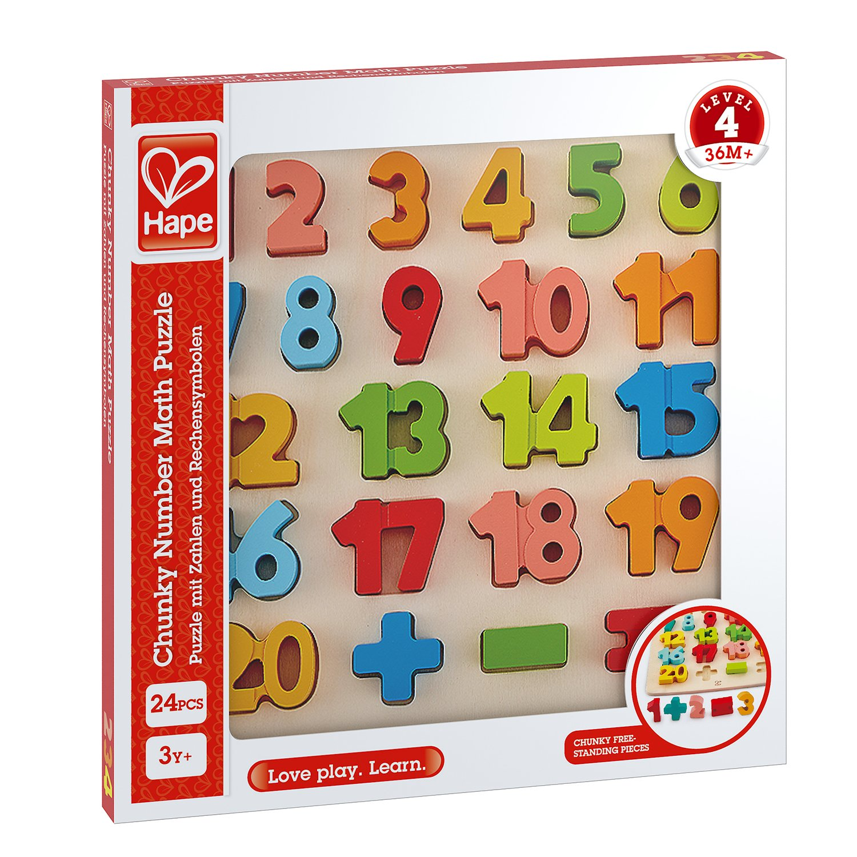 HAPE Number Puzzle