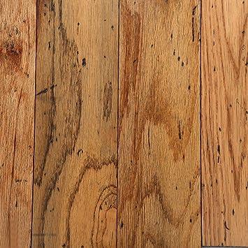 Bruce Distressed Oak Toast 3 8 In Thick X 5 In Wide Random