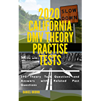 2020 California DMV Theory Practise Test: 390 Theory test Questions and Answers with Related Past Questions