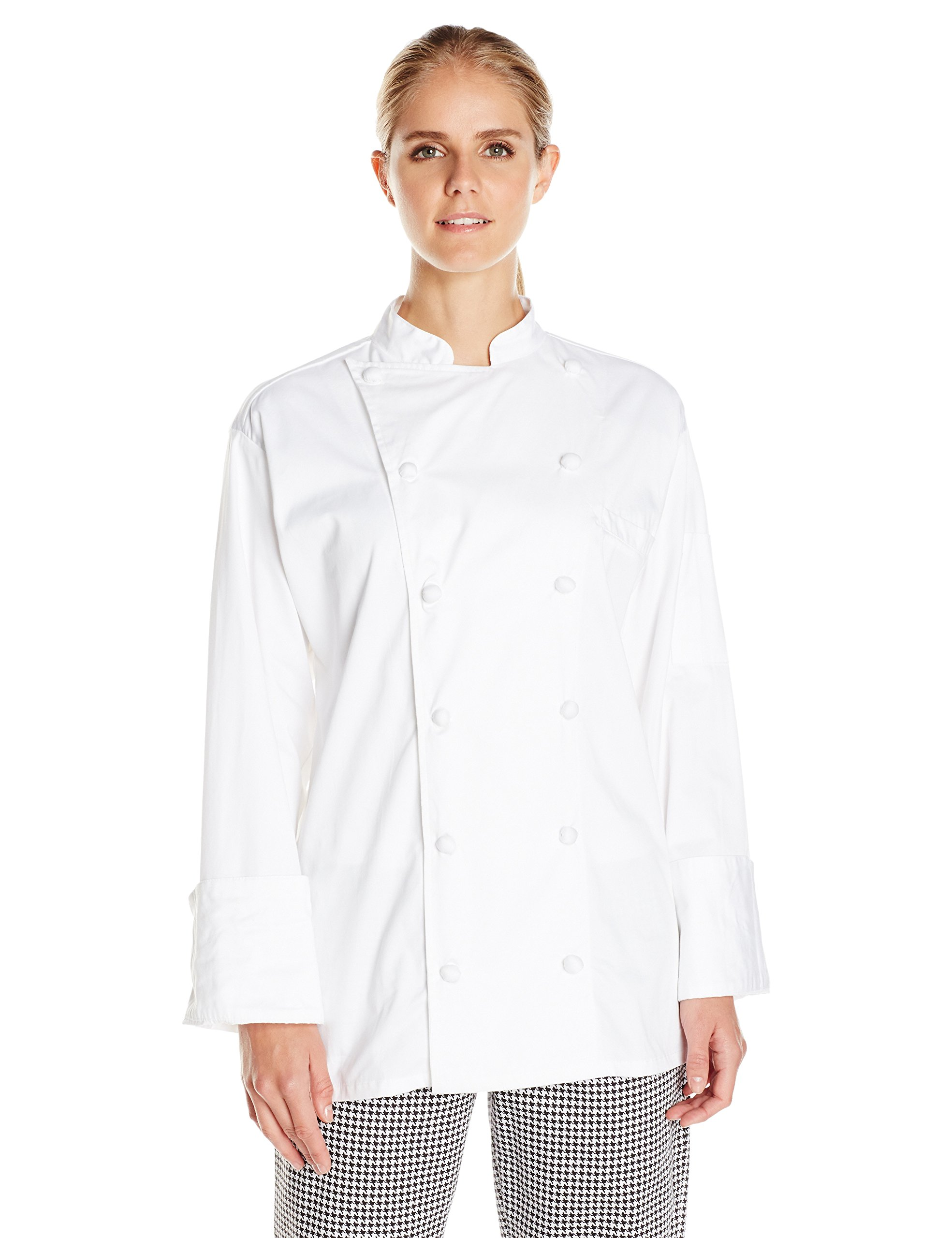 Uncommon Threads Unisex  Master Chef Coat, White, Small by Uncommon Threads