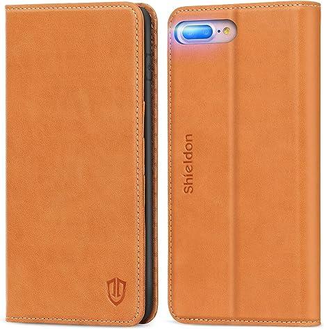 Custodia-portafoglio con magnete (iPhone 8 Plus / 7 Plus / 6 Plus