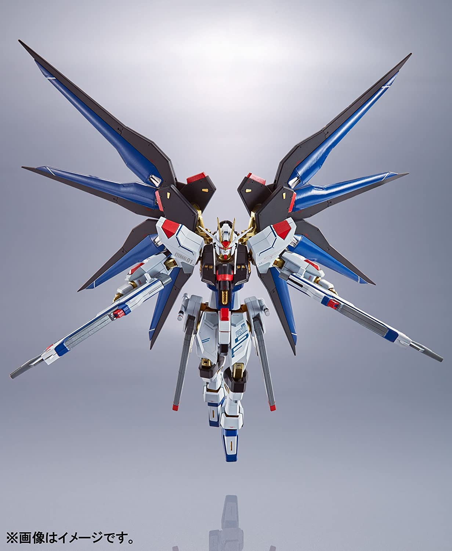 METAL ROBOT SPIRITS SIDE MS ZGMF-X20A STRIKE FREEDOM GUNDAM Figure BANDAI